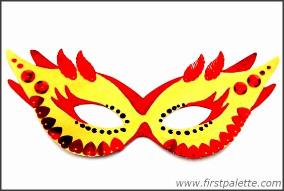 Step 7a Masquerade Mask
