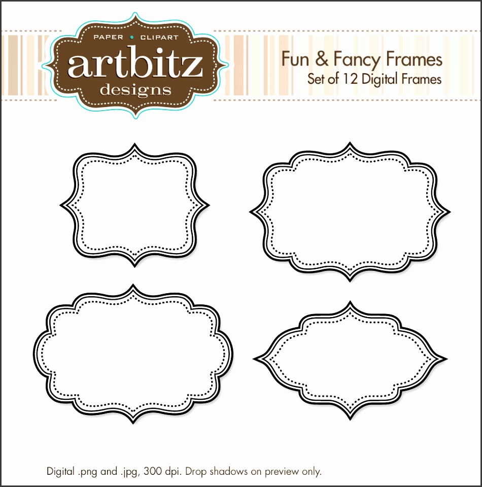 Fancy Frame Clip Art