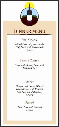 9 fancy restaurant menu templates - sampletemplatess