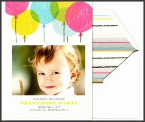 Crayon Balloons Invitation