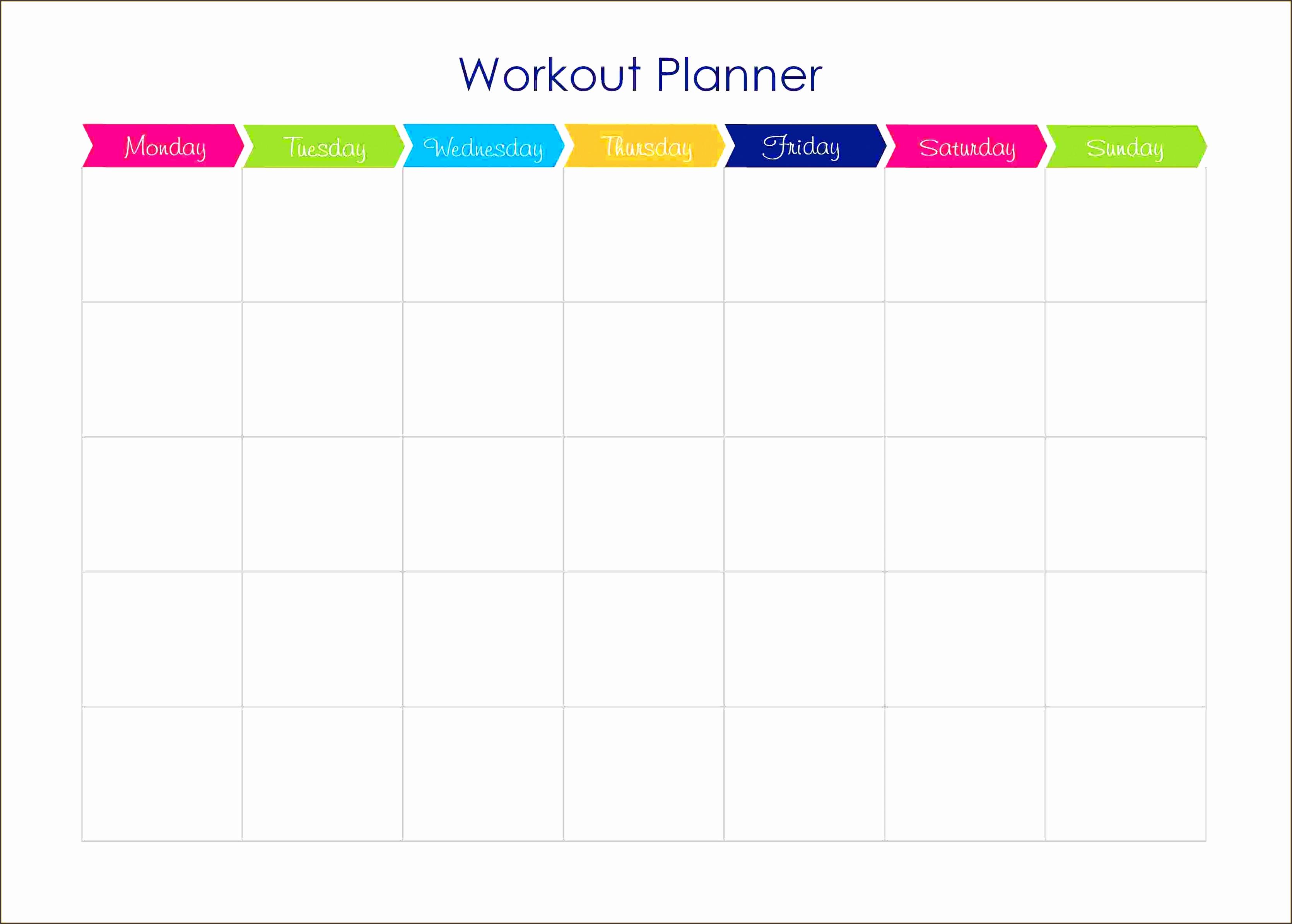 workout plan calendar template workout and yoga pics