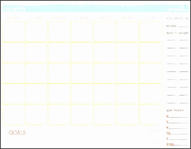 fitness calendar template workout calendar template 3