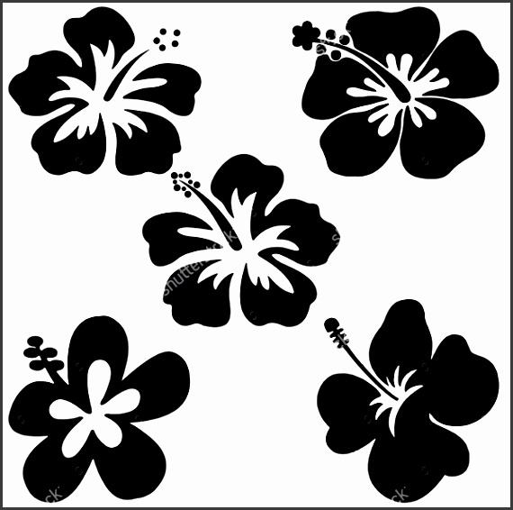 5 Petal Flower Template Free Download