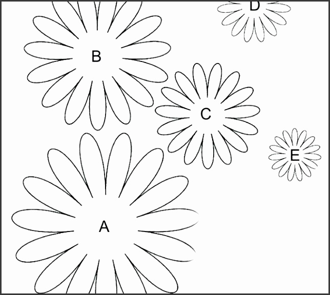 flower templates to print free printable daisy templates flower template free templates free flower petal templates