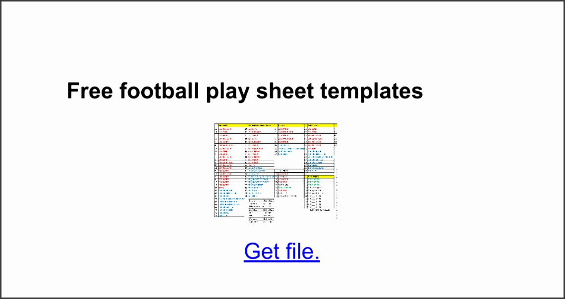 9 football depth chart template