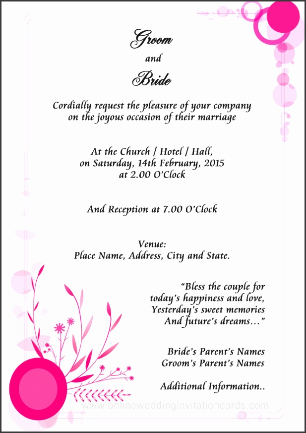 Wedding Invitations Examples is perfect design ideas you have to choose for invitations sample
