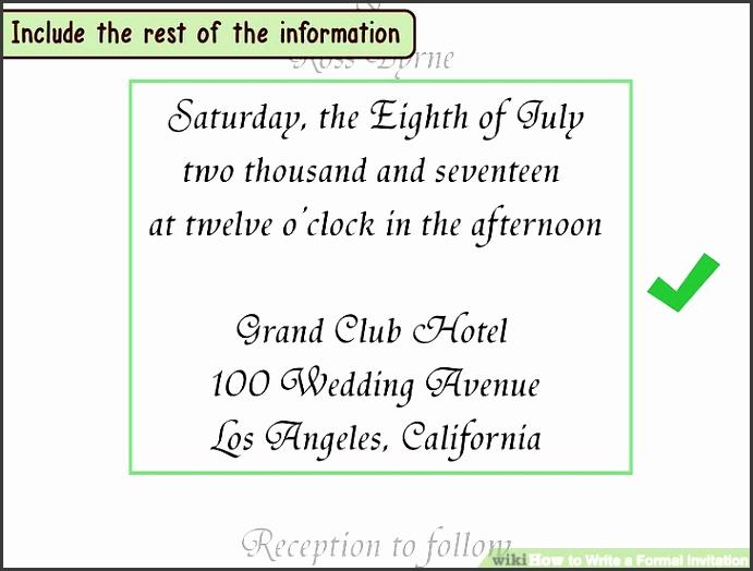 Image titled Write a Formal Invitation Step 7