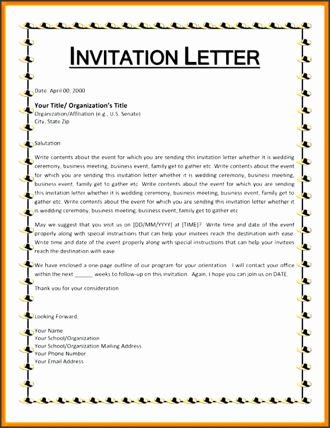 Visa Letter Of Invitation Template on for usa, sample for friends, for graduation, chinese work, sample for relatives, china tourism, to write, india business,