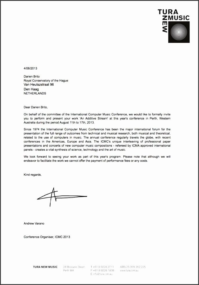 sample invitation letter image 2