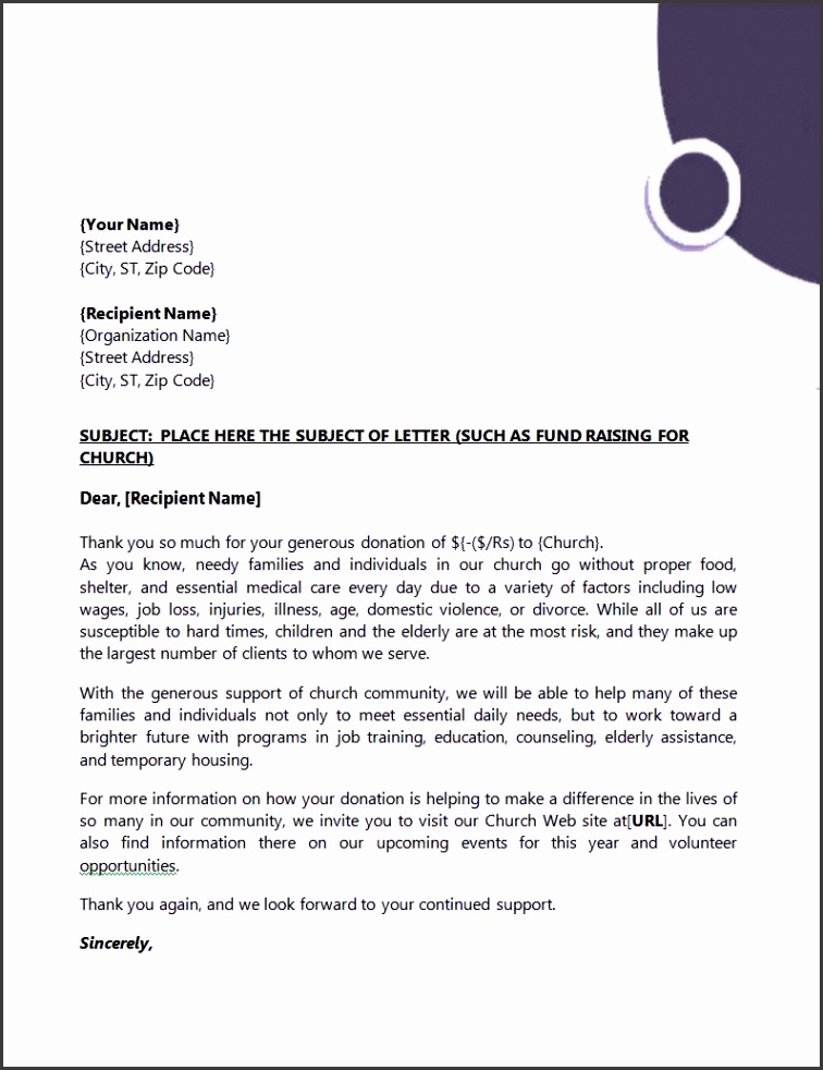 Senior Subject Place Here The Subject Letter With Business Letter Sample Word