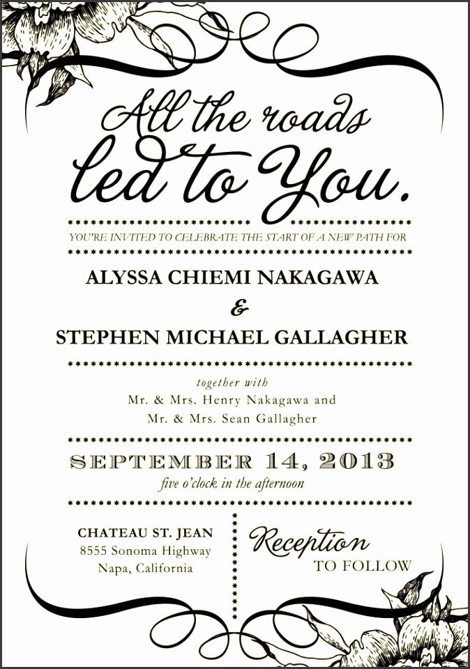 wedding invitation wording couple hosting fun