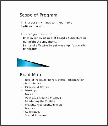 9 Board Agenda Templates Free Sample Example Format Free Nonprofit pertaining to Nonprofit Board Meeting Agenda