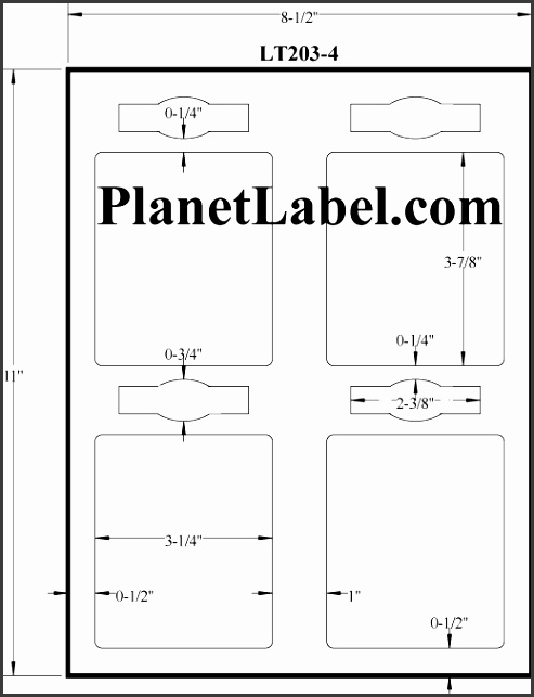 White Gloss Bottle Labels 3 1 4 x 3 7 8 LT203 4JHG Specs Templates