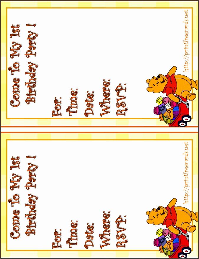 free baby s 1st birthday invitations free printable children s birthday party invitation free personalized birthday