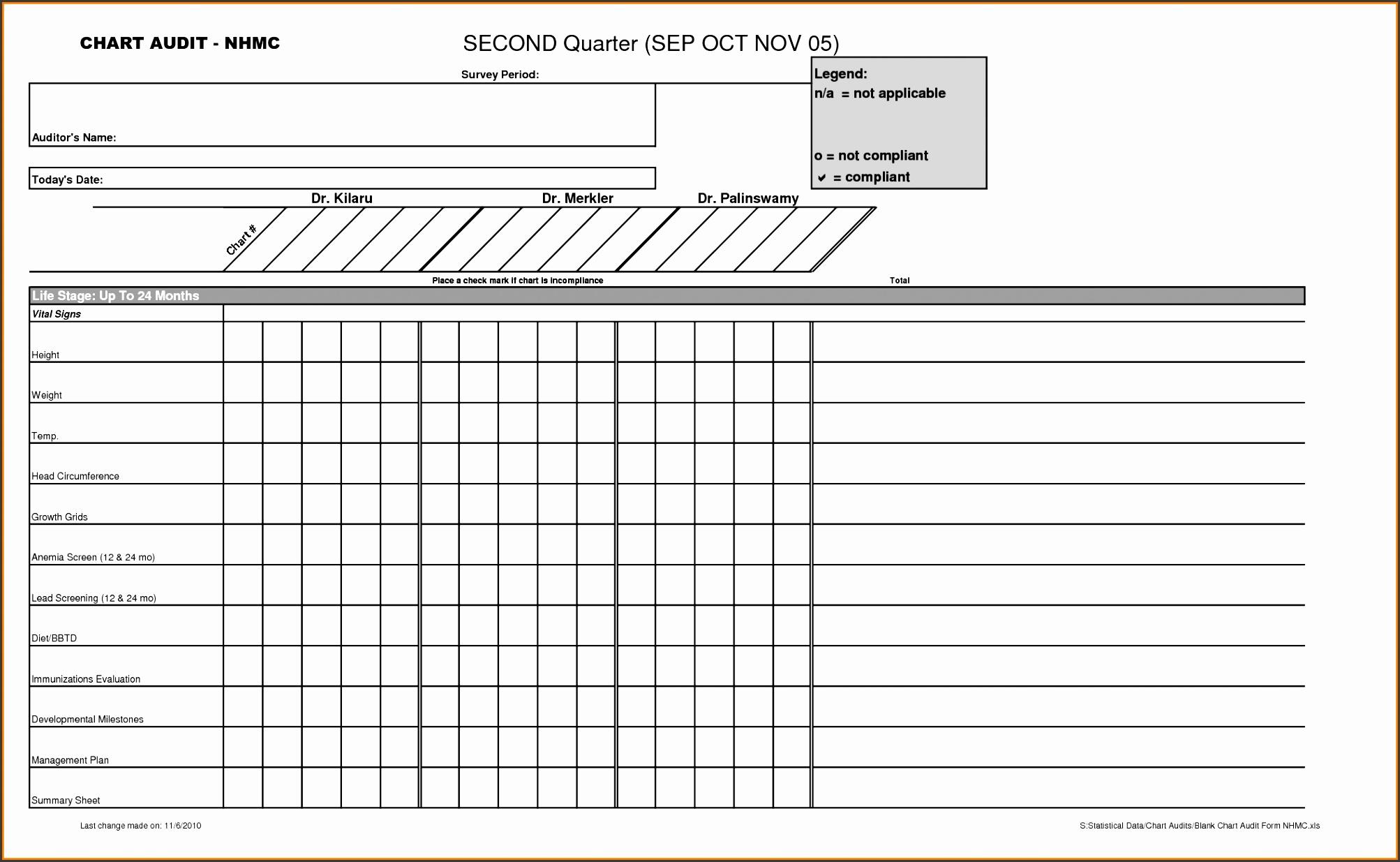 Blank Reward Chart Template 2