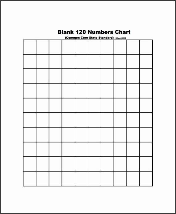 Blank Chart Templates 8 Download Free Documents in PDF