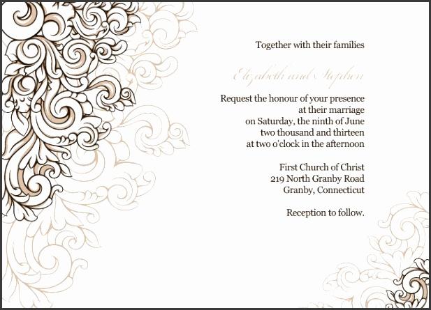 border for wedding invitation border template 67 best free printable wedding history clipart