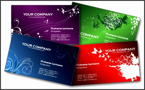Colorful Personal Free Business Cards