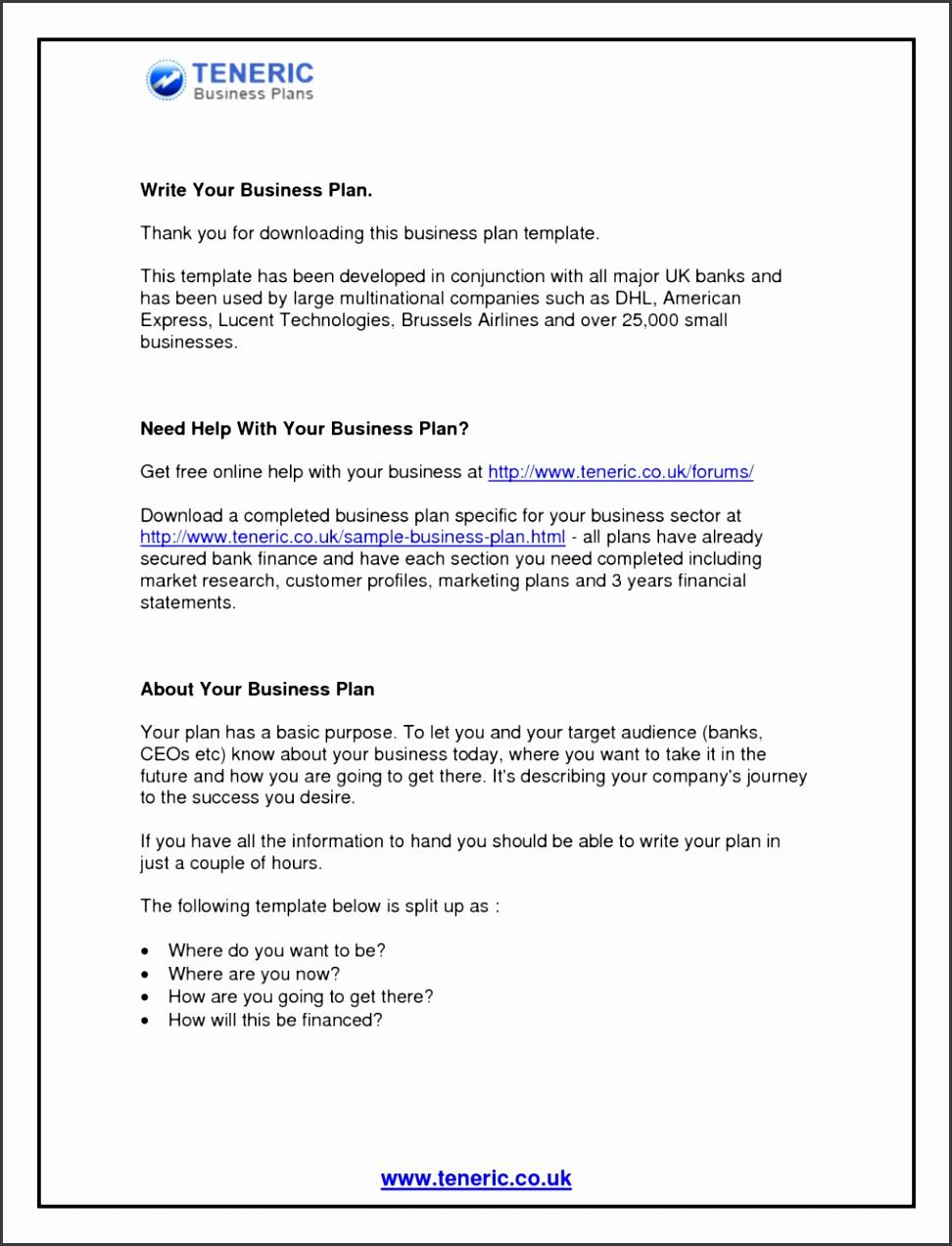 Business Plan Templates Printable Marketing Plan Resignation