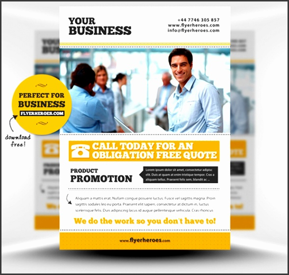 New Business Flyer Template Download Corporate Business Free Flyer Psd Template Ideas