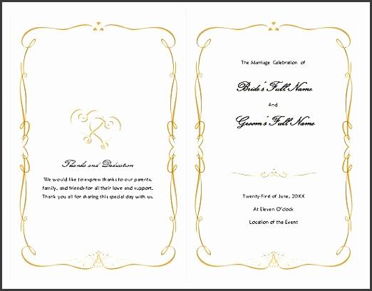 Non Mass Catholic Wedding Program Template Needed wedding catholic Ok2