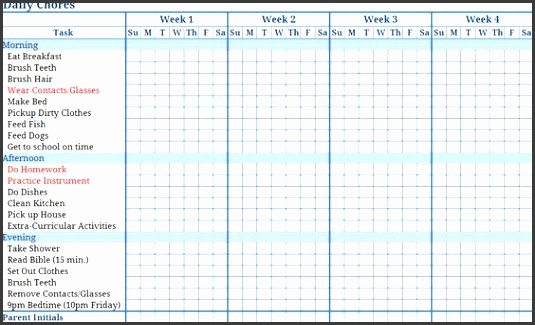 free templates chore charts Download this Printable Blank Childrens Chore Chart to keep track of Organization Pinterest