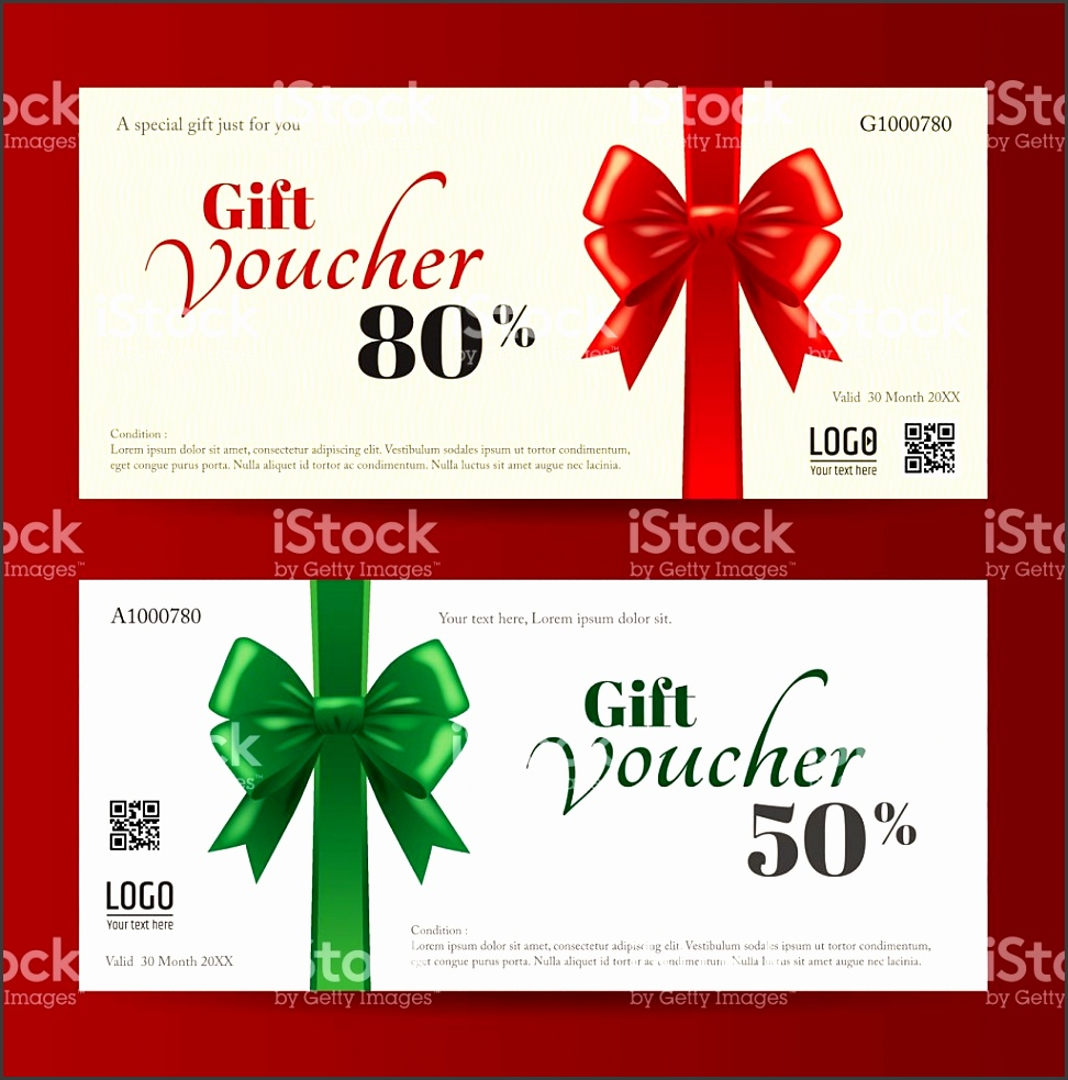 Elegant Christmas t card or t voucher template royalty free stock vector art