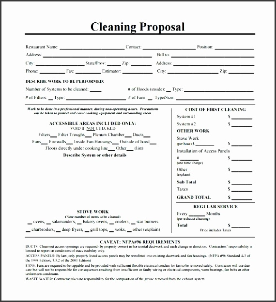 cleaning services proposal template cleaning proposal mercial cleaning services business plan sample cleaning services proposal template