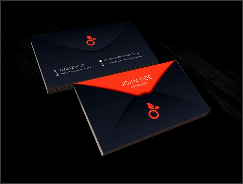 Free CEO Business Card PSD Template