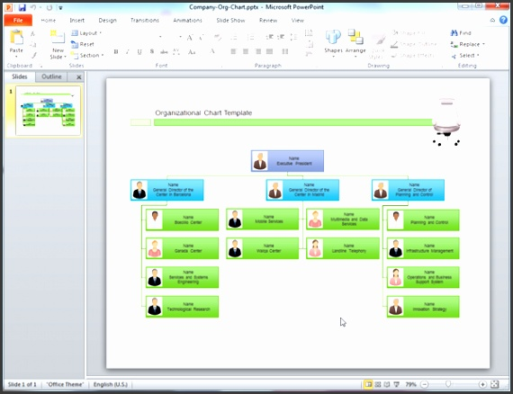 Org Chart In Ppt