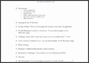 Wedding Ceremony Program Template Elegant Free Downloadable Wedding Program Template that Can Be Printed