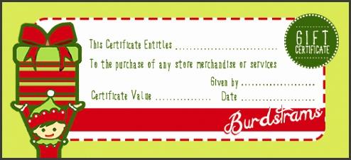 elf t certificate