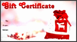 Christmas Template 02 · Gift Certificate Template Christmas 02