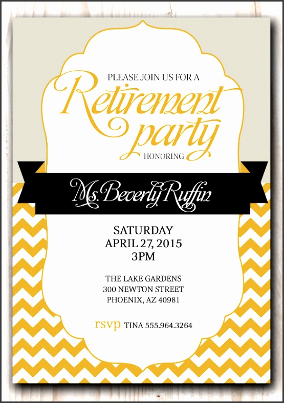 free retirement flyer template 16 retirement invitation templates free sample example format