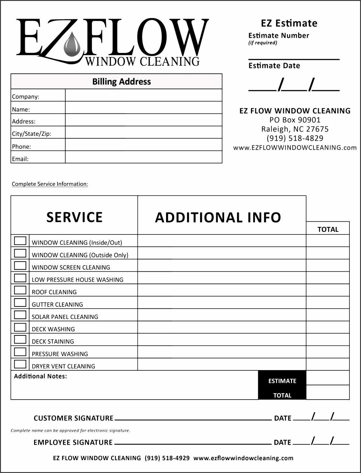 Cleaning Proposal Template Best 100 Free Business Proposal Template Ms Word 4 Job Window Estimate