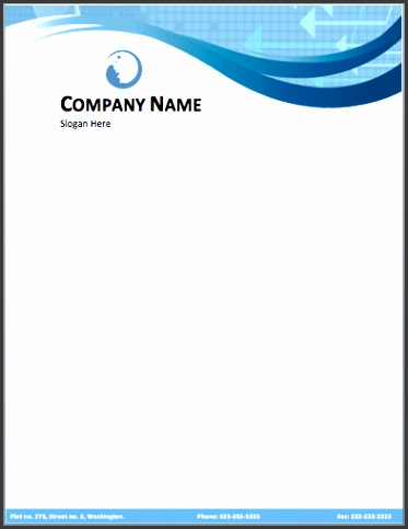 free sample doc Business Letterhead Template Free Download