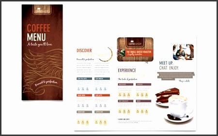 Coffee Shop Menu Template Design by StockLayouts Projects to Try free restaurant menu template word