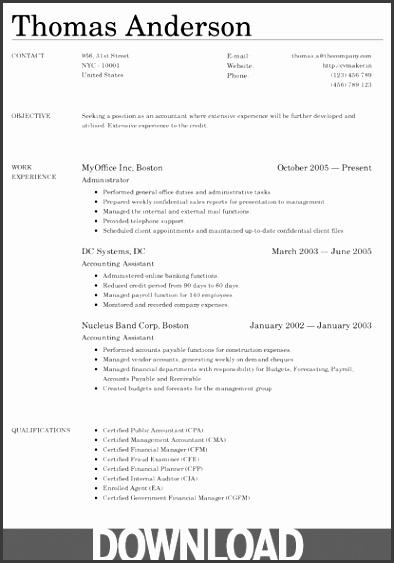 cv maker resume 02