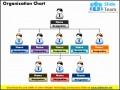 5  Free organisational Chart Template