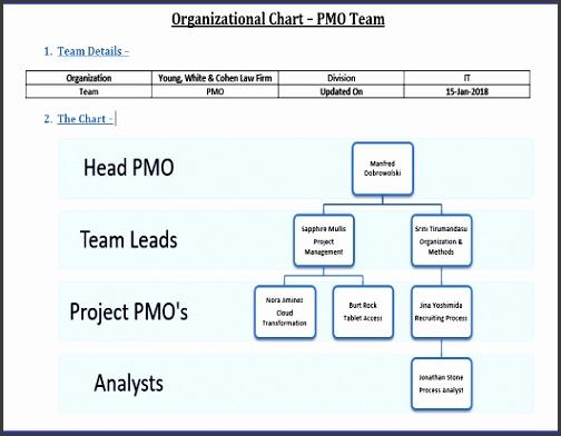 7 Free organizational Chart Templates - SampleTemplatess ...