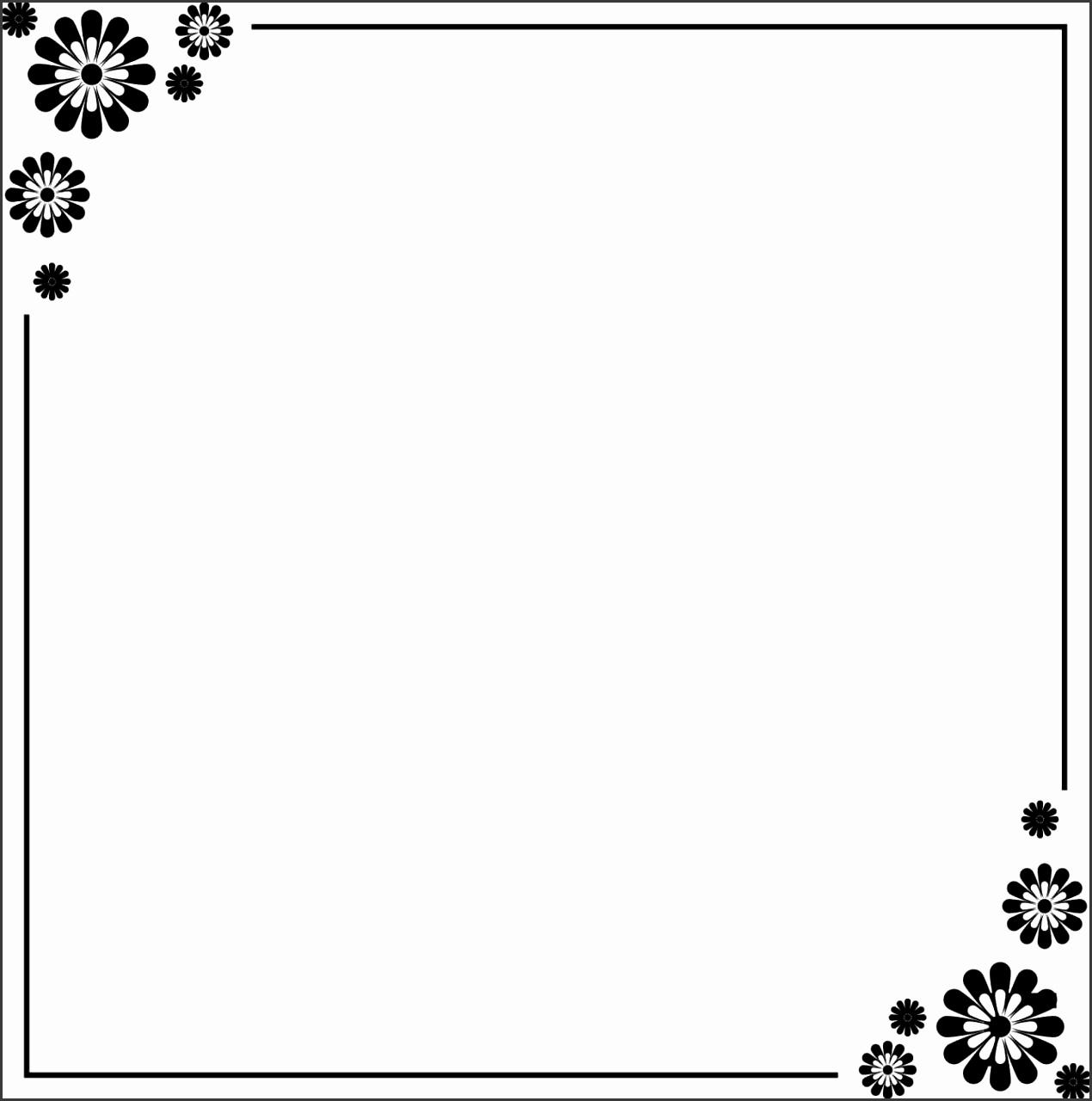 Free Printable Page Borders Designs