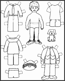 paper doll template My Own Printable Paperdolls I ve made three paper dolls with
