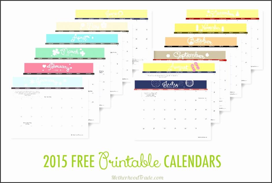 2015 free printable calendars 01