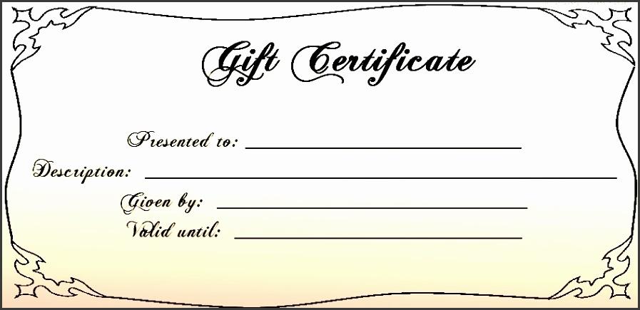 6 Free Printable Gift Voucher Template - SampleTemplatess ...