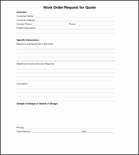 Purchase Order Form Template Pdf Free Printable Invoice Form