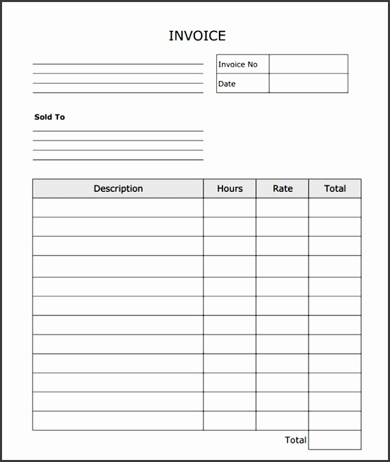 Free Printable Invoice Template Invoice Forms Free Excel Invoice Template 20 Blank Invoice Free