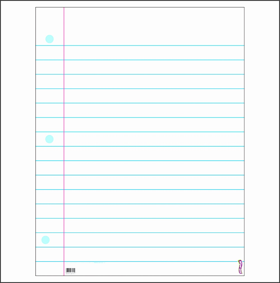 Notebook Paper Template For Word Freeprintable Birthday Cards T1095LRG Notebook Paper Template For Word Word Lined Paper Template