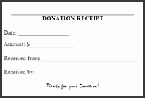 printable donation receipts