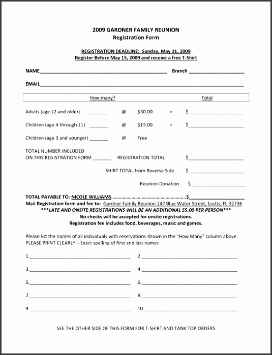 Registration Form Template v9 by Keboto on creativemarket free order form template word
