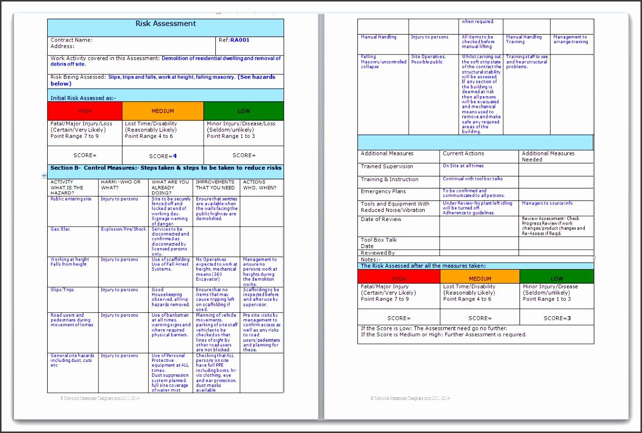 image of demolition risk assessment